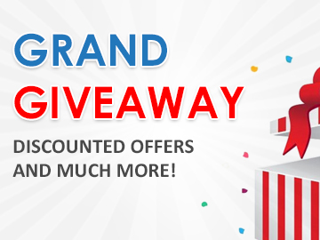 IVECCS 2020:  Grand Giveaway, discounted offers and much more