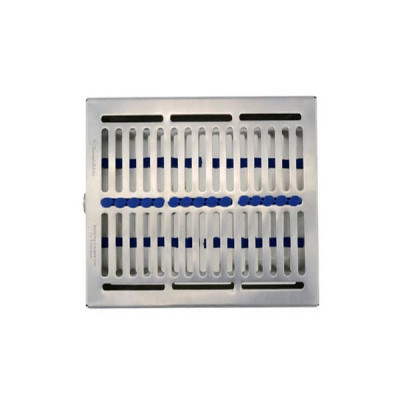 Sterilization Tray for Dental Instruments Holds up to 6 Instruments