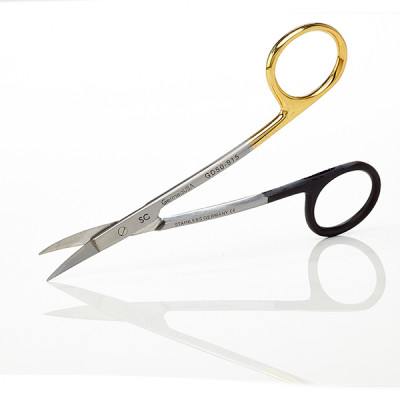 LaGrange Scissors 4 1/2 inch Double Curved  Tungsten Carbide