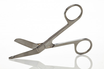 "Lister Bandage Scissors 4 1/2"" Color Coated"