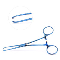 Allis Tissue Forceps, Color Coated